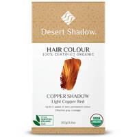 Desert Shadow Organic Hair Dye - Copper Shadow 100g