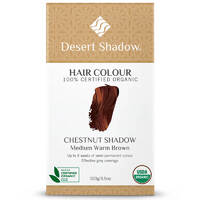 Desert Shadow Organic Hair Dye - Chestnut Shadow 100g