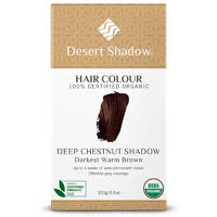 Desert Shadow Organic Hair Dye - Deep Chestnut Shadow 100g