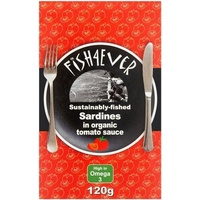 Fish4Ever Sardines in Organic Tomato Sauce ~ 120g