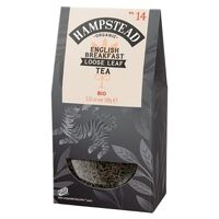 Hampstead Tea English Breakfast Loose Leaf Tea (Organic) ~ 100g Pouch