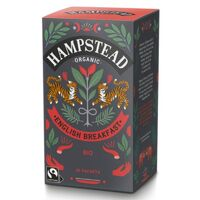 Hampstead Tea English Breakfast (Organic)  ~ 20 Tea Sachets ~ 40g