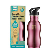 Onya Stainless Steel Drink Bottle Pink ~ 500ml
