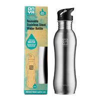 Onya Stainless Steel Drink Bottle Stainless ~ 750ml