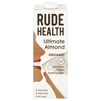 Rude Health Ultimate Almond Dairy Free Drink (Organic) ~ 1lt
