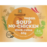 Sonnentor Vegan No-Chicken Stock Cubes (Organic) ~ 6 Cubes