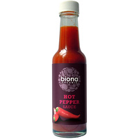 Biona Hot Pepper (Tabasco) Sauce (Organic) ~ 150g