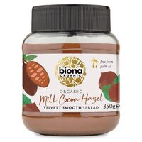 Biona Milk Chocolate Hazelnut Spread (Organic) ~ 350g