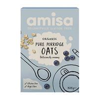Amisa Pure Porridge Oats ~ Low Gluten (Organic) ~ 325g