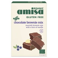 Amisa Chocolate Brownie Mix (Organic) ~ 400g