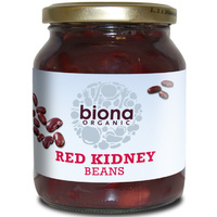Biona Red Kidney Beans in Jars (Organic) ~ 350g