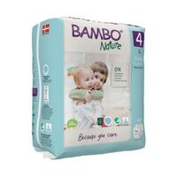 Bambo Nature Nappies Size 4 (L) 7-14 kg ~ 24 Nappies