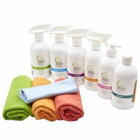 GreenAddict Starter Kit ~ 6 Products + Cleaning Cloths