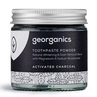 Georganics Natural Toothpowder ~ Charcoal 60ml