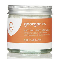 Georganics Natural Toothpowder ~ Mandarin 60ml