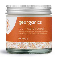 Georganics Natural Toothpowder ~ Orange 60ml