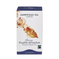 Hampstead Tea Strong English Breakfast (Organic) ~ 20 Tea Bags
