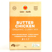 Love My Earth Butter Chicken Organic Curry Mix ~ 50g