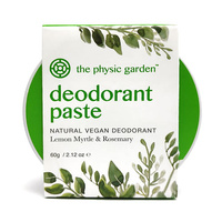 The Physic Garden Lemon Myrtle Deodorant ~ 60g
