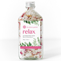 The Physic Garden Relax Bath Soak ~ 220g