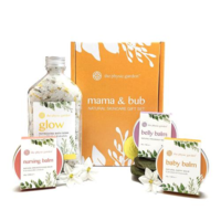 The Physic Garden Mum's & Bubs Natural Skincare Gift Set