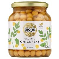 Biona Chickpeas in Jars (Organic) ~ 350g