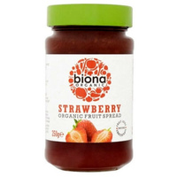 Biona Strawberry Jam & Fruit Spread (Organic) ~ 250g
