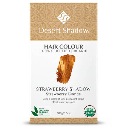 Desert Shadow Organic Hair Dye - Strawberry Shadow 100g