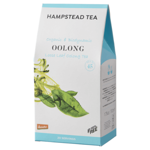 Hampstead Tea Oolong Loose Leaf Tea (Organic) ~ 50g Pouch