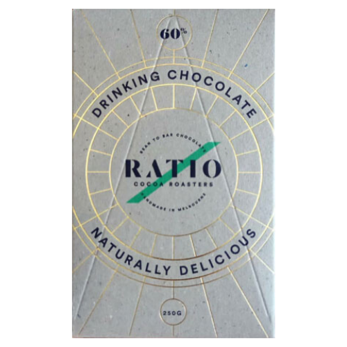 Ratio Cocoa Roasters Drinking Chocolate (Vegan) ~ 250g