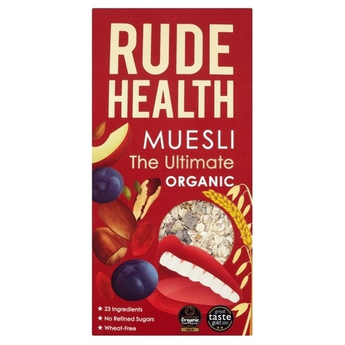 Rude Health The Ultimate Muesli (Organic) ~ 500g