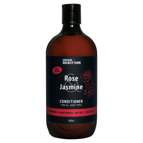 Unique Selections Rose & Jasmine Conditioner ~ 500ml